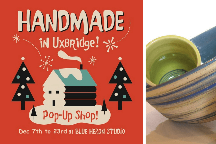 Handmade in Uxbridge Holiday Pop Up Shop